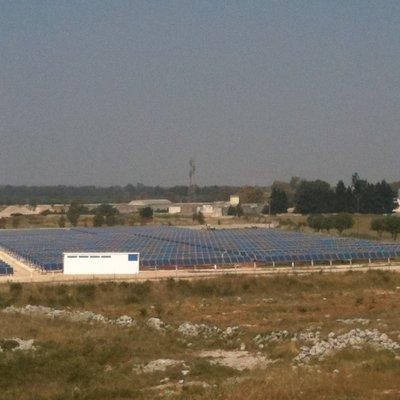 Realizzazione centrale elettrica fotovoltaica