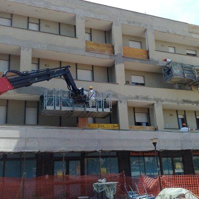 Ristrutturazione di palazzine degli anni '80 in Bastia Umbra Perugia