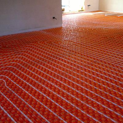 Impianto a pavimento radiante classico