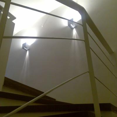 scala e luci