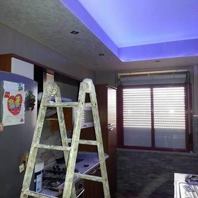 Controsoffitto e impianto illuminotecnica