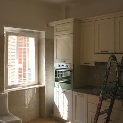 Ristrutturazione d'interni di un appartamento al Laurentino