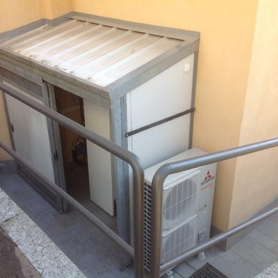 Pompa di calore 16 kw termici Villa In Gandino BG