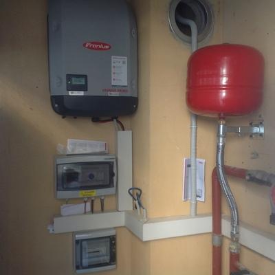 Fotovoltaico da 6 kw abbinato alla pompa di calore Gandino BG