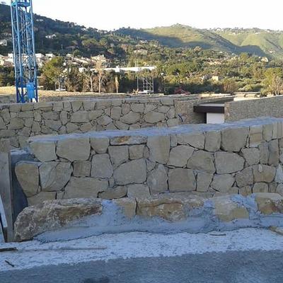 Rivestimento muro in pietra naturale