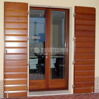 Falegnami, finestre in legno, Zanzariere