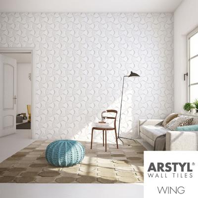 rivestimento di parete con pittura acrilica