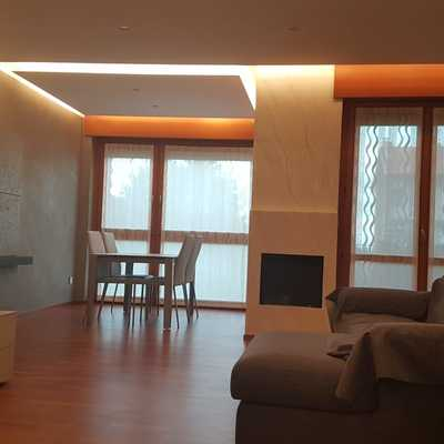Soffitto in cartongesso con luce led
