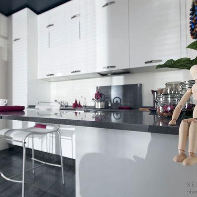 Cucina moderna arredata su misura