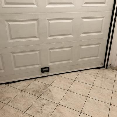 Porta del garage dopo