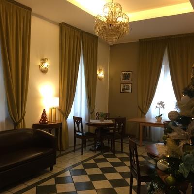 Tende Velluto Hall Albergo Milano