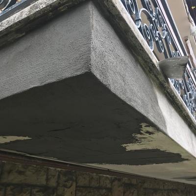 Ricostruzione esterna sottobalconi