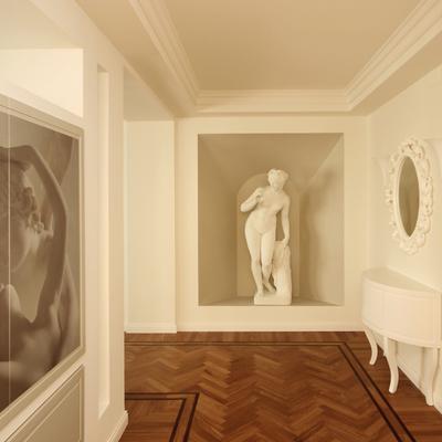 Architettura d'Interni in Stile Classico Contemporaneo