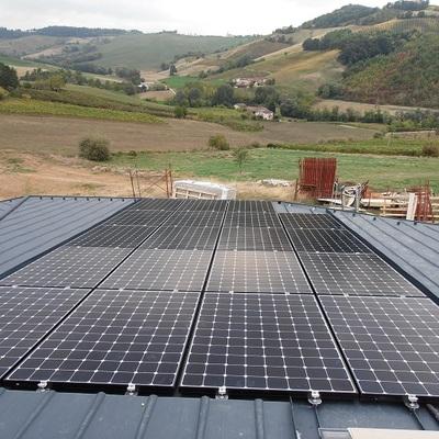 impianto solare fotovoltaico residenziale