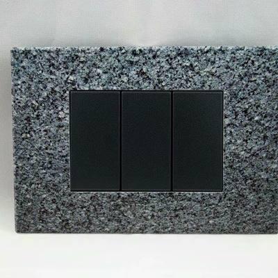 Placche interruttori personalizzate - effetto granito