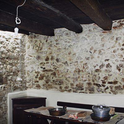 Vecchia cantina ristrutturata in grottino