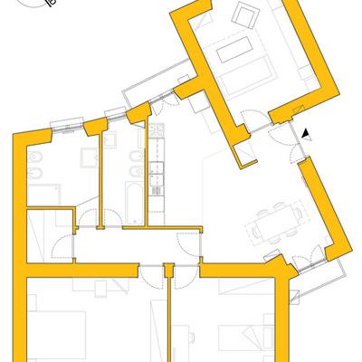 Ristrutturazione d'interni di un appartamento a San Giovanni