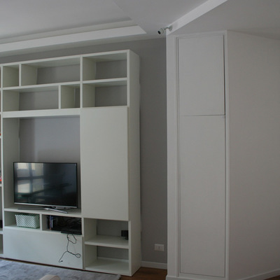 Ristrutturazione d'interni di un appartamento sull'Appia Nuova