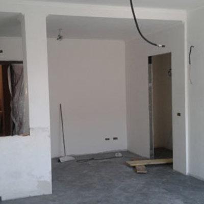 Ristrutturazione d'interni di un appartamento a Bagni di Tivoli