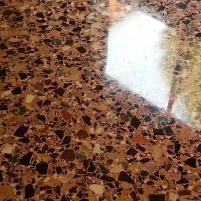 formazione pavimento alla veneziana
