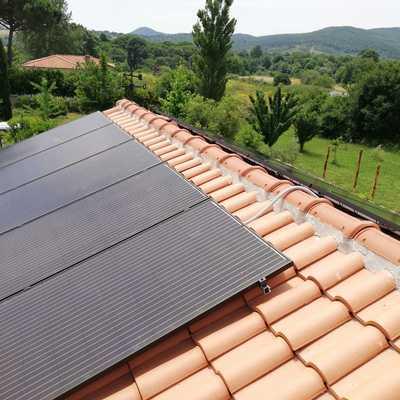 Impianto est-ovest - moduli monocristallini EXE solar all black 300Wp