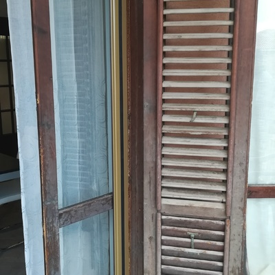 Ristrutturazione infissi in legno