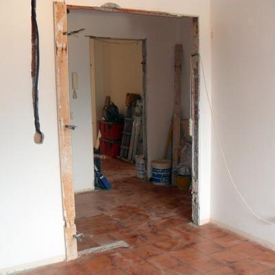 apertura porta d'interno