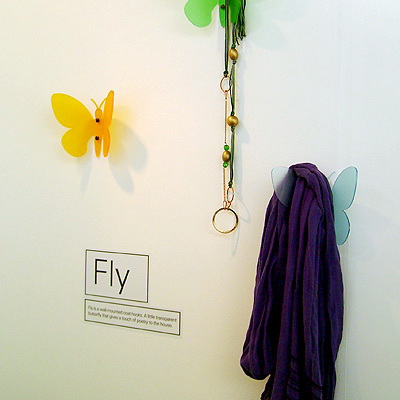 Appendiabiti a farfalla