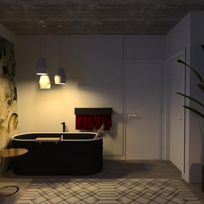 camera da letto con vasca agape