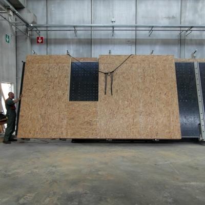 Assemblaggio pareti in legno