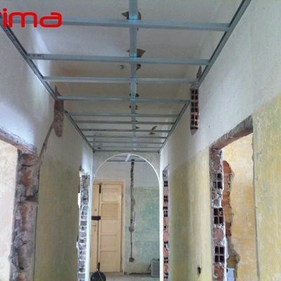 Ristrutturazione appartamento con ribassamenti soffitti in cartongesso