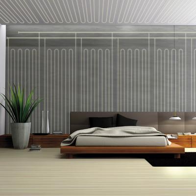 Sistema radiante a soffitto e parete b!klimax
