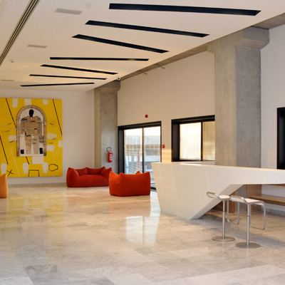 Banco reception in DuPont™ Corian®