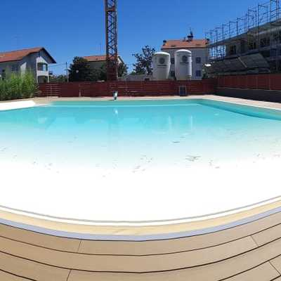 Rivestimento esterno piscina