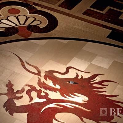 Berti, Intarsio Ming, Particolare