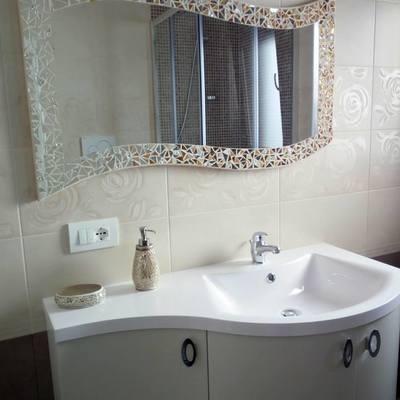 Specchio BEST A ONDA da bagno