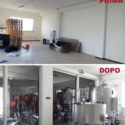 Realizzazione di un birrificio artigianale