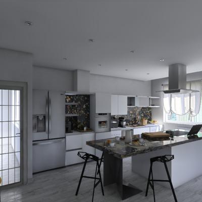 Ristrutturazione ambiente cucina soggiorno