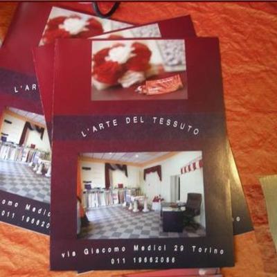 brochure arte del tessuto!!