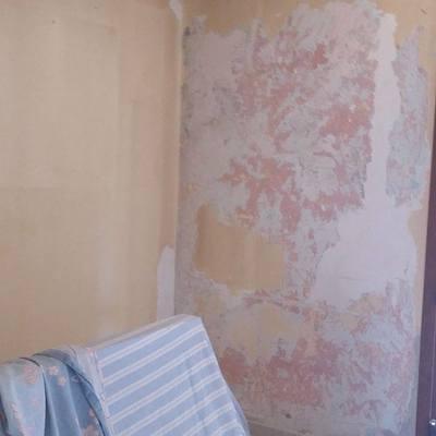 parete da restaurare
