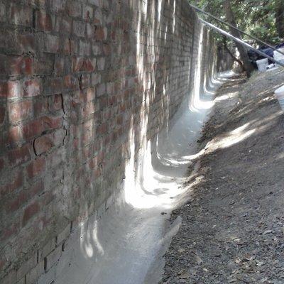 ristrutturazione canali di scolo acque piovane