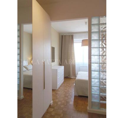 Divisione camera con vetro mattone