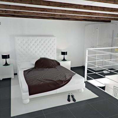 Fast design taranto - Camera da letto soppalcata ...