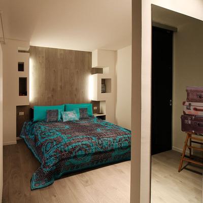 camera da letto in cartongesso