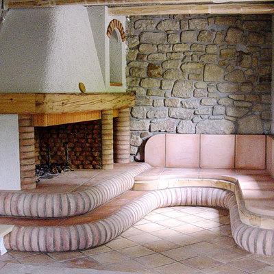 Caminetto su misura Villa Bartoldi