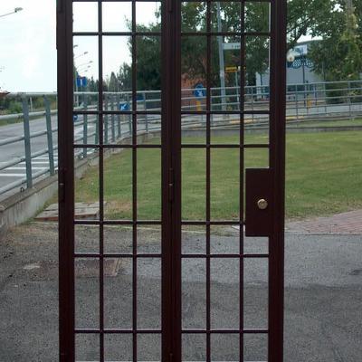 porte di sicurezza in ferro saldate