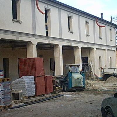restauro villa antica
