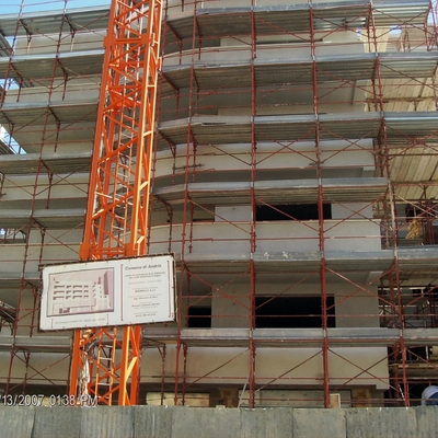 Cantiere edile in Andria (Bt)