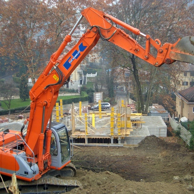 Cantiere in corso d'opera