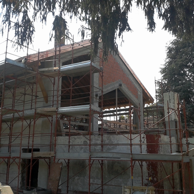 cantiere in Magenta